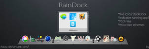 RainDock with Stacks Docklet
