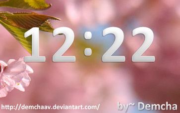 Clock Style Laplaing by DemchaAV