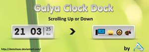 Galya clock dock