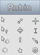 Rubin Cursor by DemchaAV