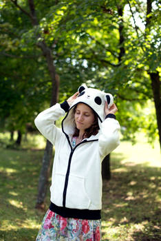 Toni is Panda in action
