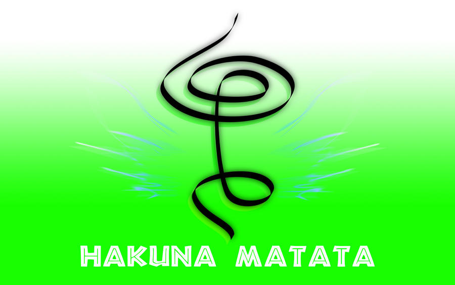 Hakuna Matata Symbol Parhlag
