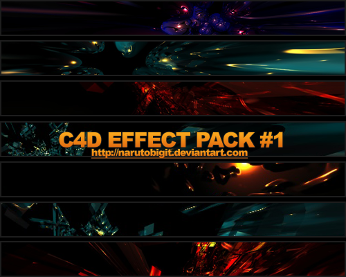 C4D Effect Pack 1 by Narutobigit