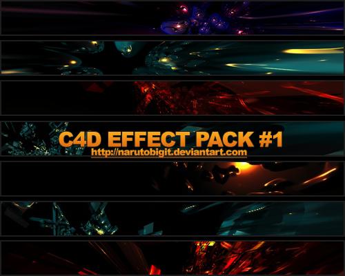 C4D Effect Pack 1 by Narutobigit