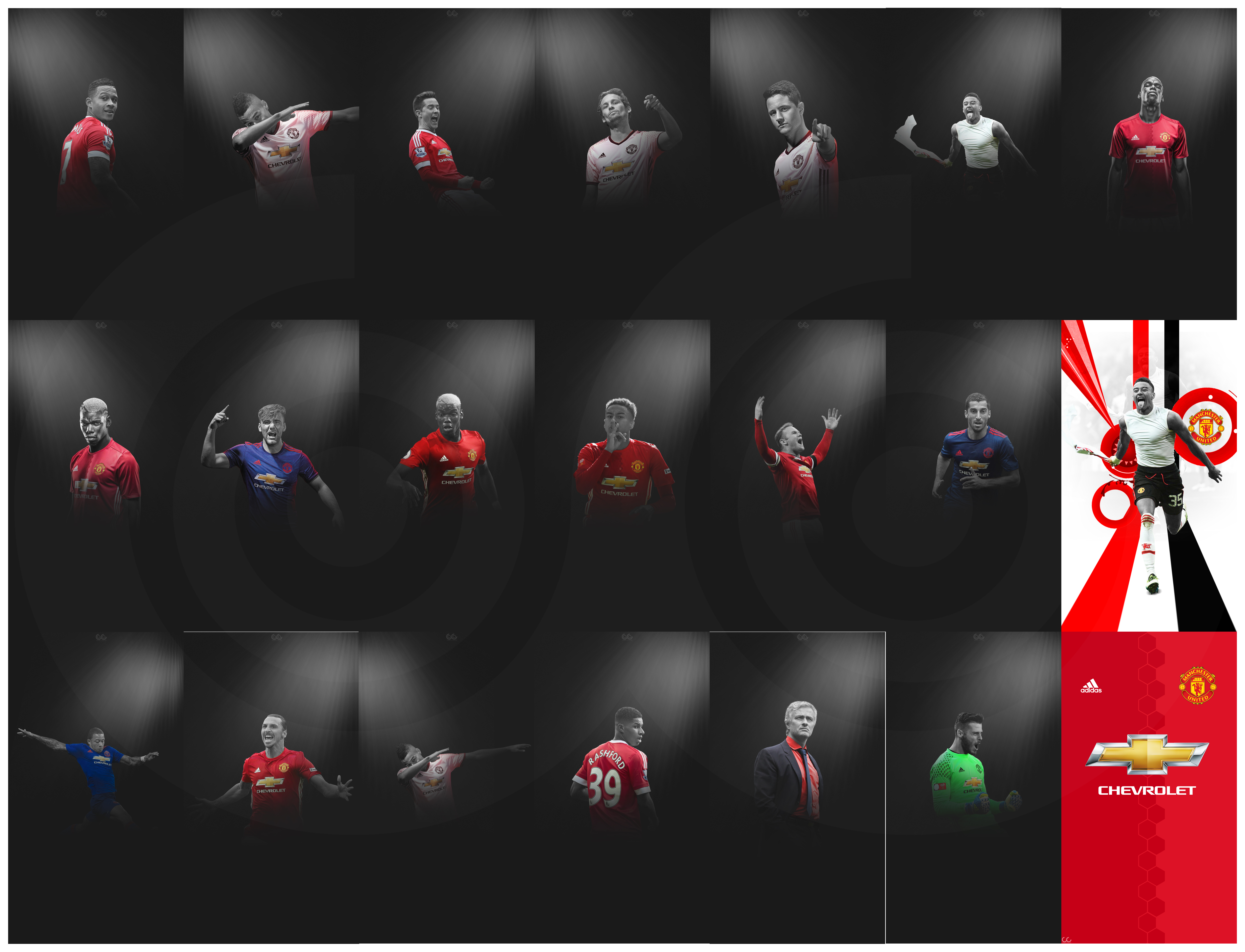Manchester United Lockscreen Wallpaper Pack By Akcr7 On