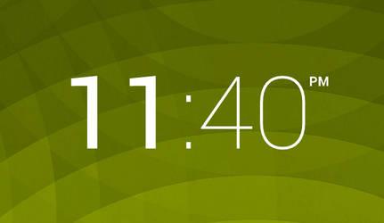 Rainmeter HOLO Clock