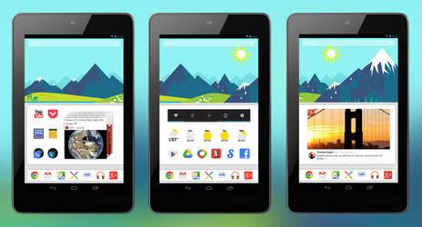 Google Now - Mountain Wallpaper Pack