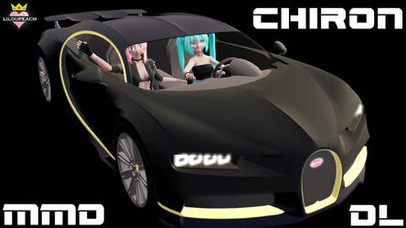 MMD Chiron black Gold  DL by liloupeach