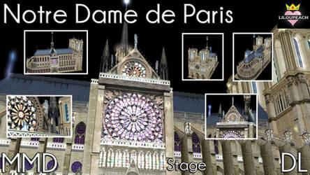 Notre Dame de Paris MMD Stage DL by liloupeach