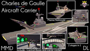 Charles de Gaulles Air Craft Carrier MMD DL