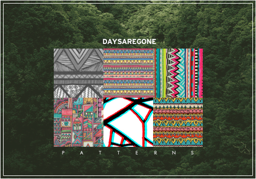 Days are gone | Patterns by Violentyouth