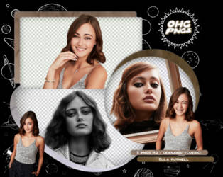 PACK PNG 168 // ELLA PURNELL by OMG-PNGS