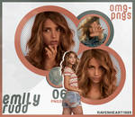 PACK PNG 202 // EMILY RUDD