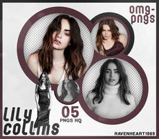 PACK PNG 213 // LILY COLLINS