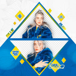 PACK PNG 238 // BILLIE EILISH by OMG-PNGS