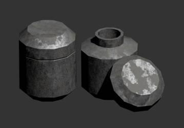 Stone Jar by pfunked