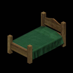 Bed - low poly