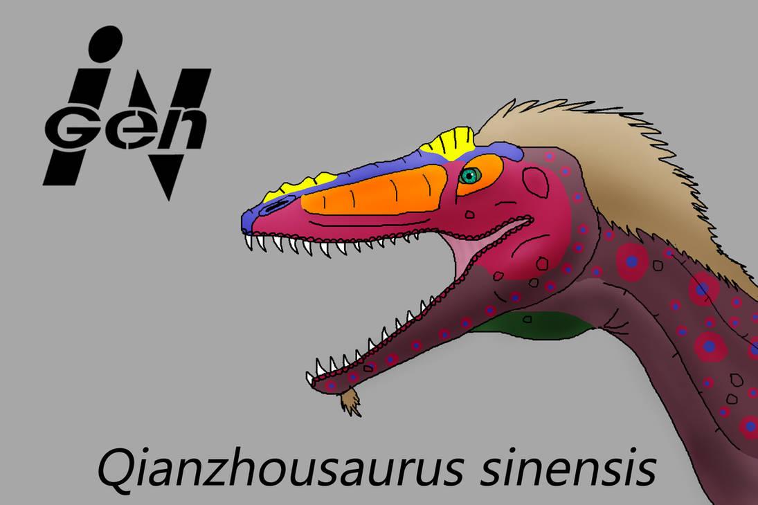 JP Qianzhousaurus by PaleoCheckers