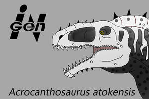 JP Acrocanthosaurus by PaleoCheckers