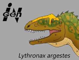 JP Lythronax by PaleoCheckers