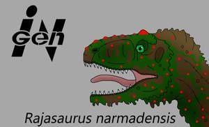JP Rajasaurus by PaleoCheckers