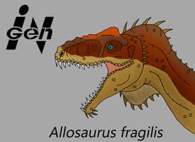 JP Allosaurus by PaleoCheckers