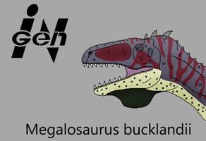JP Megalosaurus by PaleoCheckers