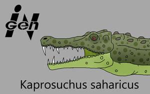 JP Kaprosuchus by PaleoCheckers