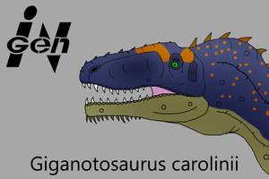 JP Giganotosaurus by PaleoCheckers