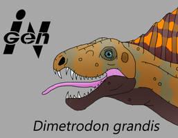JP Dimetrodon by PaleoCheckers