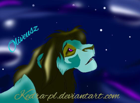 Magic lion - Oliveusz by Kedra-PL