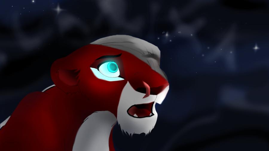 Magic Lion - Larixa... Why is not happy? by Kedra-PL