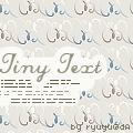 Tiny Text by ryuyu