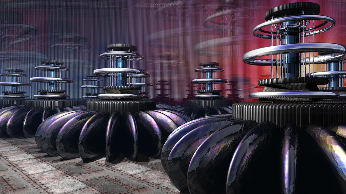 Reactor Room UHD by sed