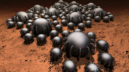 Martian Colony 4K by sed
