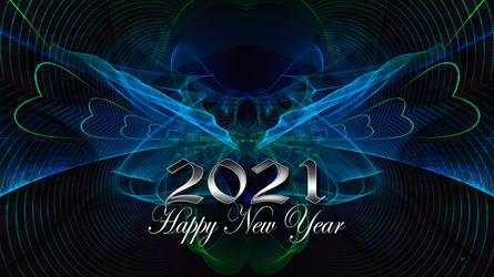 2021 Happy NY  4K by sed