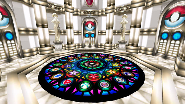 MMD Stage: Pokemon Radiant Chamber