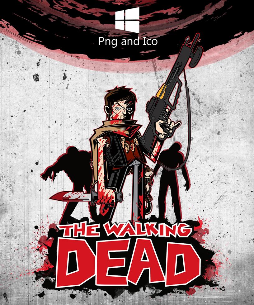 The Walking Dead Icon by nemanjadmitrovic