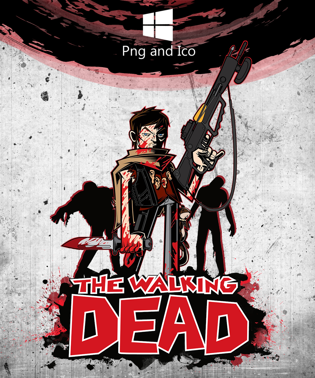 The Walking Dead Icon by nemanjadmitrovic