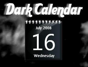 Dark Calendar by rodfdez