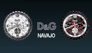 D and G Navajo clocks