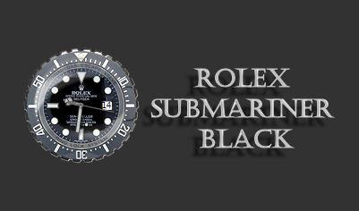 Rolex Submariner Black by rodfdez