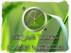 Vista Clock Alarm Edition