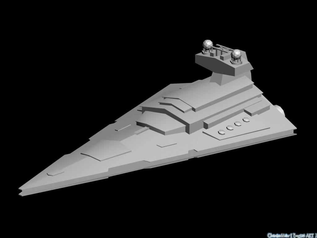 SW - Imperial Star Destroyer by Borg124