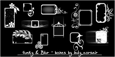 funkyandblur deco boxes by flowersfollowed