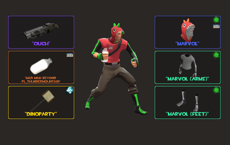 The Furry Pound forums • View topic - Tf2 Cosmetic Collection