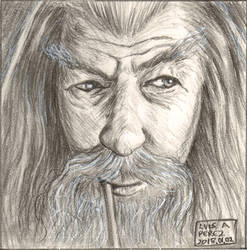 Gandalf - Daily Drawing 2018.