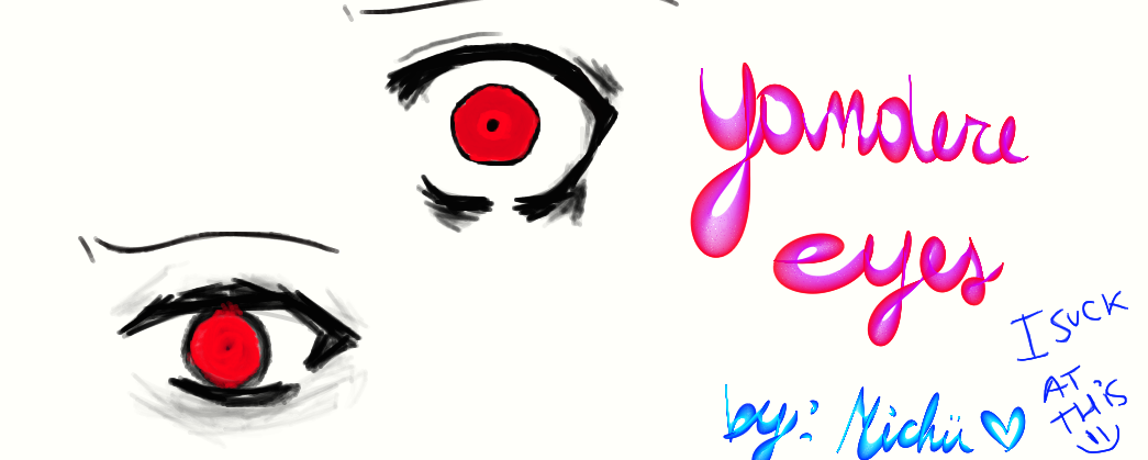 How to draw yandere eyes more info how to draw yandere eyes ccuart Image collections