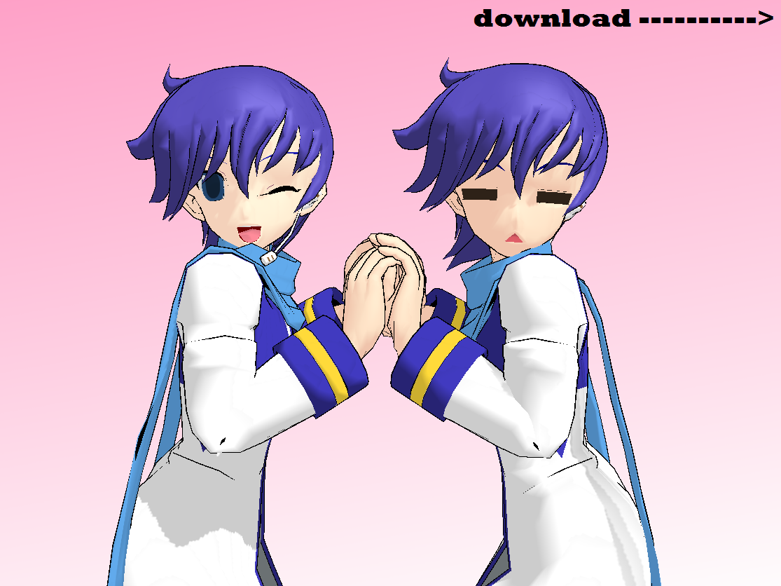 MMD Kaito Ver 2 IS HERE!!! +Download by FBandCC
