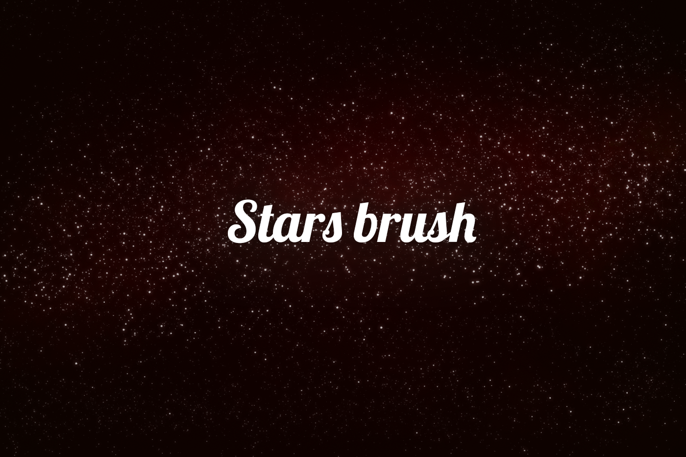 Stars Brush by pavoldvorsky